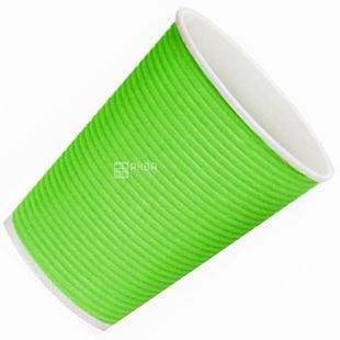Gofrostakan paper green 250 ml, 25 pieces, D80