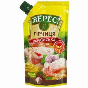 Veres, 120 g, mustard, Ukrainian strong, doy-pack