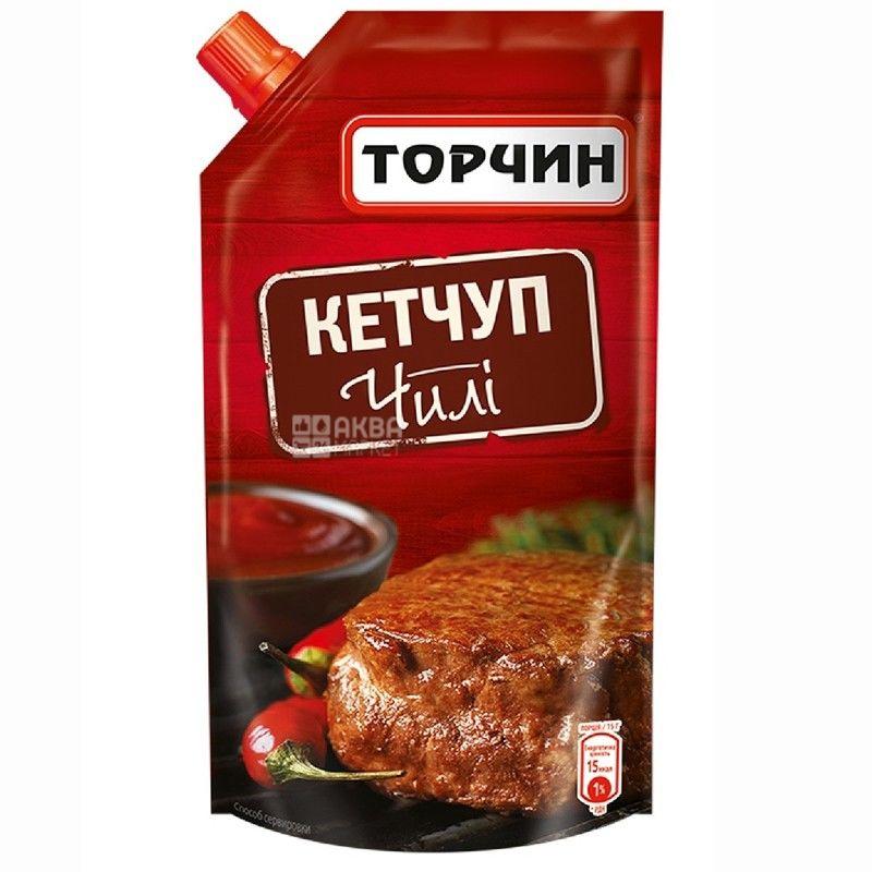 Торчин, 300 г, кетчуп, Чили, дой-пак