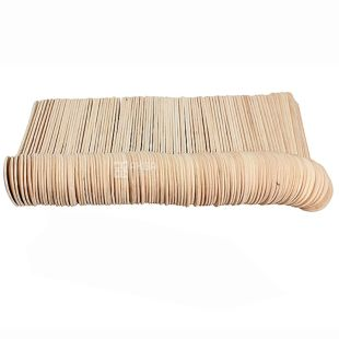 Linpac, 100 шт., 16,5 см, ложка дерев'яна