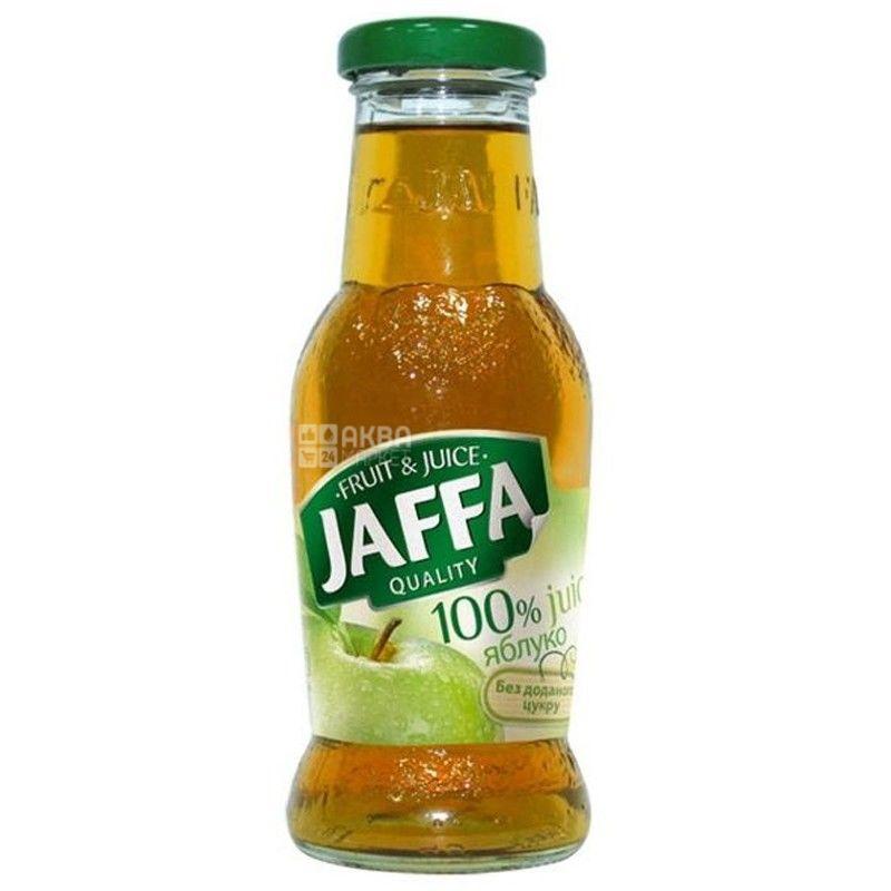 Jaffa, 0,25 л, сок, Яблоко, стекло