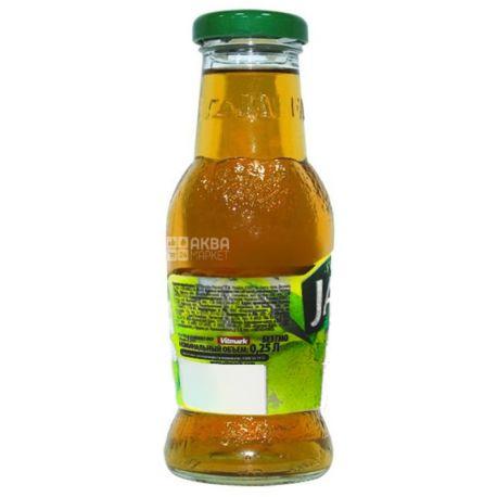 Jaffa, Apple, 0,25 л, Джаффа, Сок Яблоко, без добавления сахара, стекло