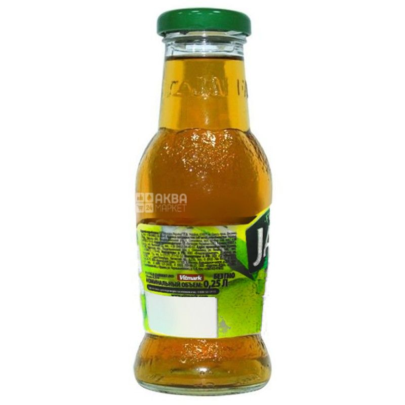 Jaffa, Apple, 0,25 л, Джаффа, Сік Яблуко, без додавання цукру, скло