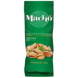 Macho Фісташки смажені солоні, 60 г
