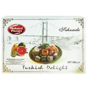 Sehzade, 200 g, Turkish Delight, Fruit