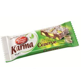 Karma Cezerye, 50 г, батончик, З фісташками