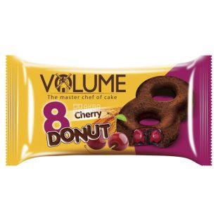 Volume, 50 г, кекс какао з вишневою начинкою, Donut