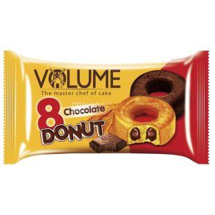 Volume, 50 г, кекс з шоколадним соусом, Donut