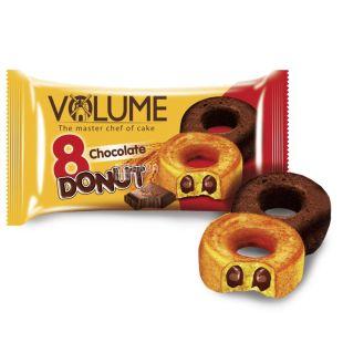 Volume, 50 г, кекс с шоколадным соусом, Donut