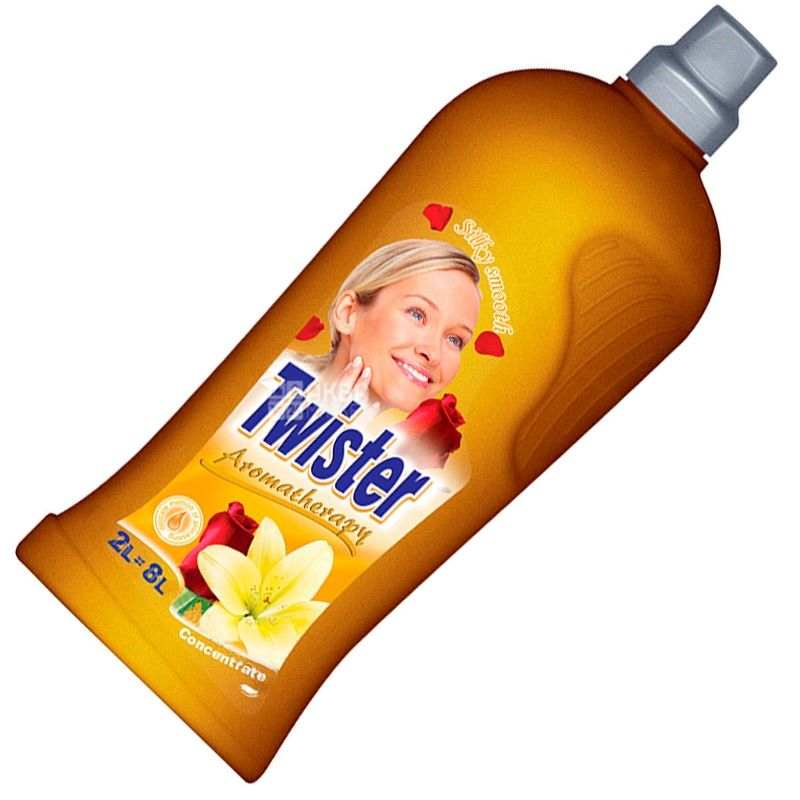 Twister, 2 liters, conditioner-superconcentrate for linen, Smoothness of silk, PET