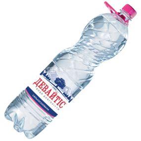 Девайтис, 1,5 л, Вода сильногазированная, Минеральная, ПЭТ