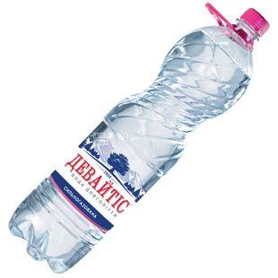 Девайтис, 1,5 л, Вода сильногазированная, ПЭТ
