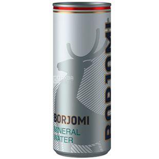 Borjomi, 0,33 л, Боржоми, Вода минеральная сильногазированная, ж/б