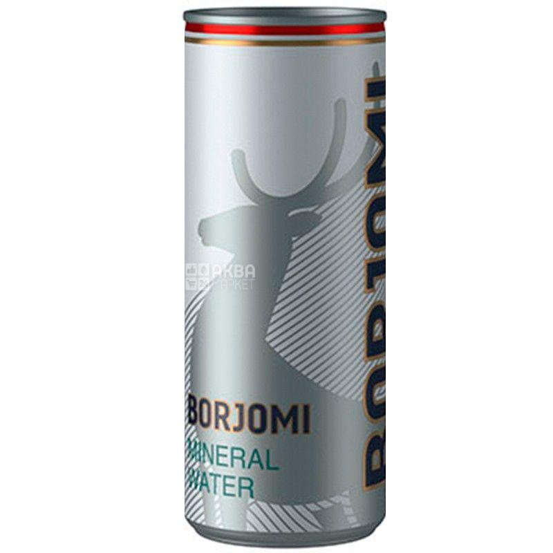 Borjomi, Вода минеральная сильногазированная, 0,33 л