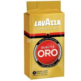 Lavazza, Qualita Oro Original, 250 г, Кофе Лавацца, Куалита Оро Ориджинал, средней обжарки, молотый