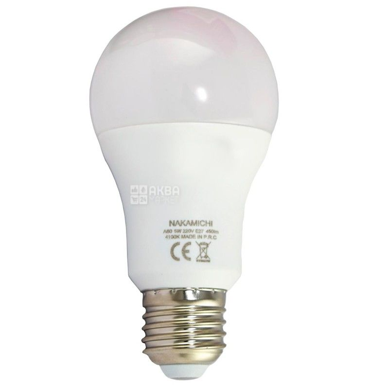 Nakamichi, 5W, лампа світлодіодна, Матова