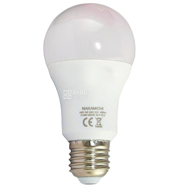 Nakamichi, 9W, лампа светодиодная, Матовая