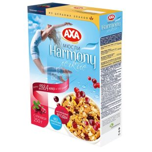 AXA, 250 g, muesli lungs, Harmony, With cranberries