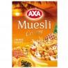 AXA, 375 г, Мюслі медові, з тропічними фруктами, сухий сніданок, швидкого приготування