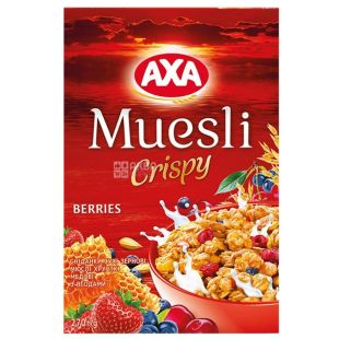 AXA, 270 g, honey muesli, With berries