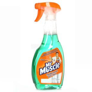 Mr. Muscle, 500 мл, засіб для миття скла, З нашатирним спиртом, ПЕТ