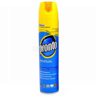 Pronto, 250 ml, Polish, For wooden surfaces, Anti-dust