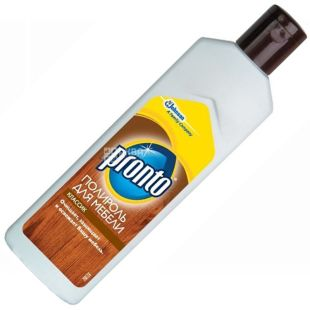 Pronto, 300 ml, polish, For wooden surfaces