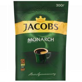Jacobs Monarch, 300 г, растворимый кофе, Econom