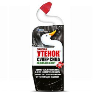 Toilet duck, 500 ml, toilet cleaner, Super strength, PET