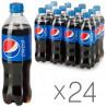 Pepsi-Cola, Упаковка 24 шт. по 0,5 л, Пепси-Кола, Классическая, Вода сладкая, ПЭТ