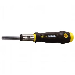 MASTER TOOL, 34 subjects, set of screwdriver and end nozzles, 40-0356