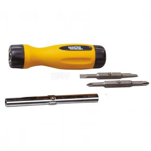 MASTER TOOL, Screwdriver, 4 in 1, 40-0516