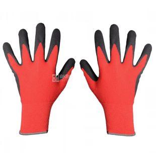 MASTER TOOL, перчатки хозяйственные, С нитриловым покрытием, 57-59 г