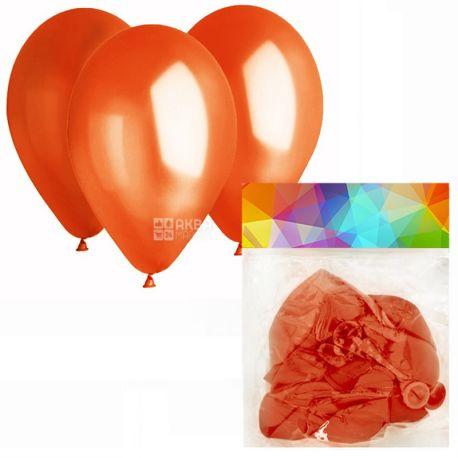 Gemar Balloons, 10 шт., воздушные шары, Пастель, Оранжевые, м/у