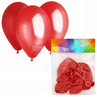 Gemar Balloons, 10 шт., повітряні кулі, Пастель, Червоні, м/у