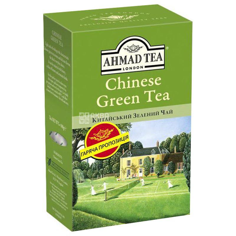 Ahmad Tea Chinese Green, 100 г, Чай зеленый Ахмад Ти Чайнес Грин, Китайский