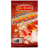 Mc'Corn, 90 г, Попкорн, Зі смаком бекону, Для мікрохвильової печі
