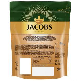 Jacobs Monarch, 60 г, розчинна кава, Crema