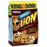 Nestle, 500 г, готовий сніданок, LION, Карамель та шоколад