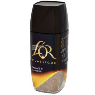 L'OR Classique, 100 г, Кофе Лор Классик, растворимый