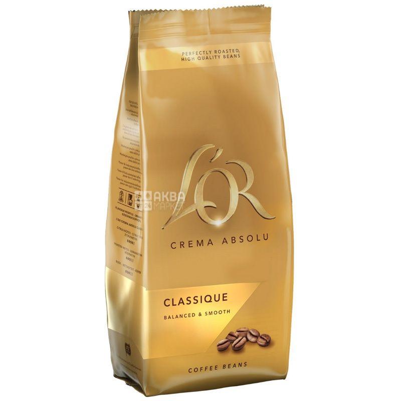 L'OR Crema Absolu Classique, Coffee Grain, 500 g