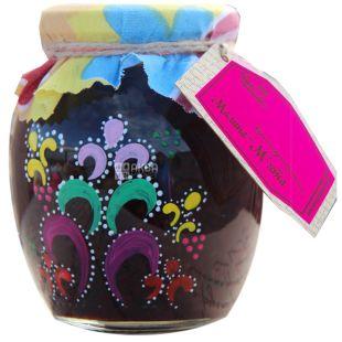 Velika Rodina, 470 g, raspberry-mint jam, glass