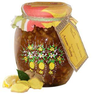 Great Motherland, 480 g, lemon-ginger jam, glass