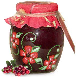 Velika Motherland, 450 g, jam Cranberry, glass