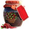 Velika Rodina, 460 g, jam, Cowberry-Chilli Pepper, glass