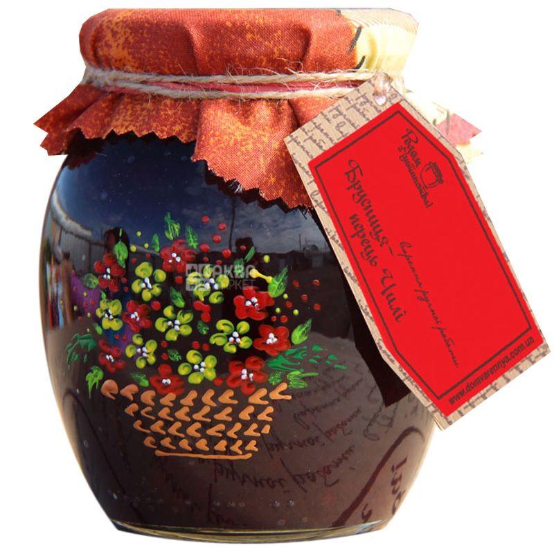 Велика Родина, 460 г, варенье, Брусника-Перец Чили, стекло