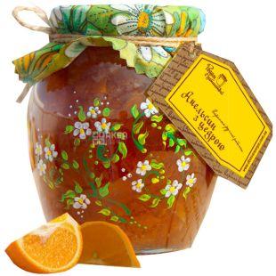 Родом из детства, 440 г, варенье, Апельсин с цедрой, стекло