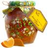 Originally from childhood, 440 g, jam, Orange with zest, glass