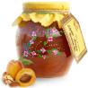 Great Motherland, 460 g, jam, Apricot-Almond-Walnut, glass