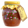 Велика Родина, 460 г, варенье, Абрикос-Миндаль-Грецкий орех, стекло